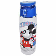 Disney Mickey Mouse American Flag Water Bottle BPA-FREE 25oz
