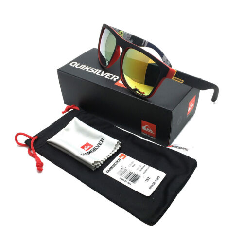 HOT With Box QuikSilver 17 Colors Stylish Men Women Outdoor Sunglasses UV400
