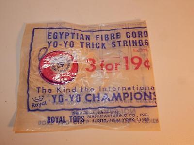 4 PacksVintage Egyptian YO YO Fibre Cord Trick Strings