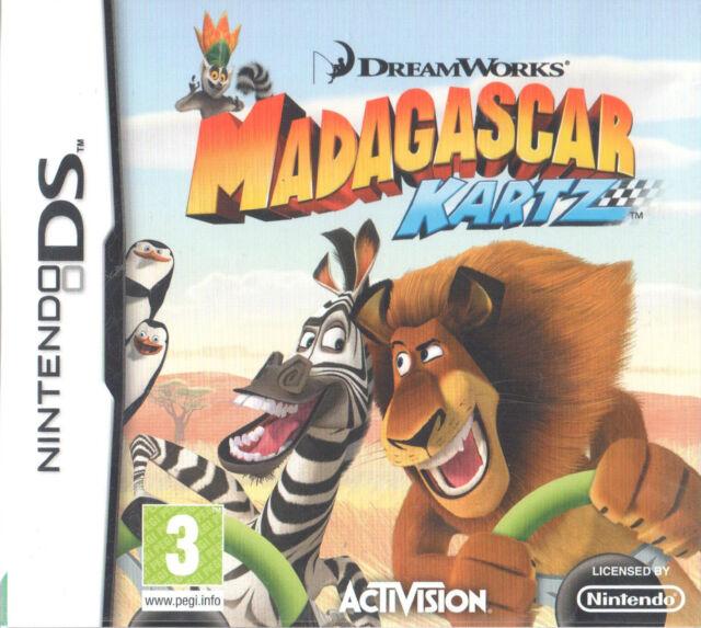 Madagascar Kartz Nintendo DS 3+ Racing Game