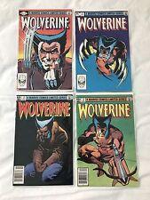 Wolverine 1-4 Complete Mini Series Frank Miller 1982 Marvel 1 2 3 4