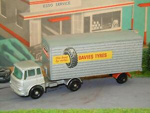 Bedford-Tractor-amp-Trailer-Freightmaster-Davies-Tyres-van-Matchbox-Lesney-2-2237
