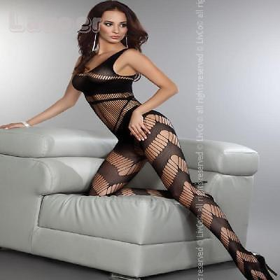 "█▬█ █ ▀█▀ Netz-Body *Tocca* von ""Livco Corsetti"", Catsuits Body Stocking"