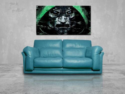 Doctor Doom Villain CANVAS PRINT Wall Home Decor Giclee Art Poster Marvel CA907