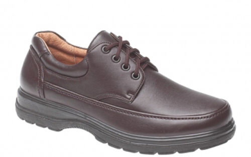 Mens Brown Lightweight Lace Up School Comfort Shoes UK Sizes 6 7 8 9 10 11 Gift