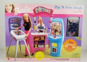 Barbie PLAY N PRIZE ARCADE Playset 2000 MATTEL 67264 NEW IN BOX