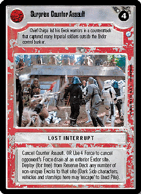 Star Wars CCG Reserve PilotA New HopeNM//MINT BONUS Card!