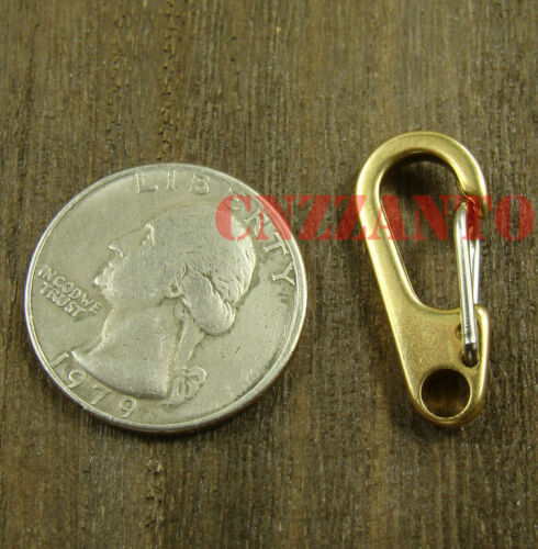 26mm outdoor EDC keychain ring Brass snap hooks clip 5pcs 1 inch