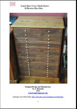 D.I.Y. PLANS TO BUILD AN 18 DRAWER FLOSS/CRAFT BOX - PDF file