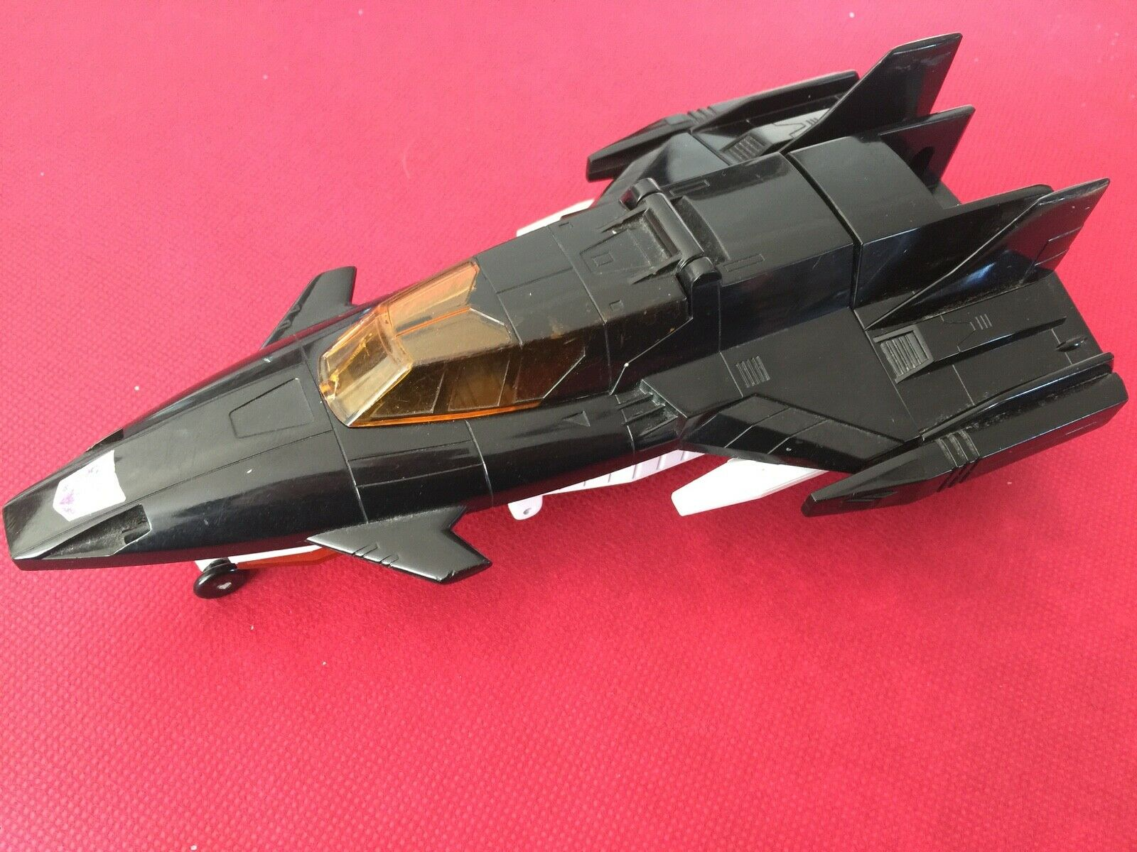 Transformers G1 1988 OVERLORD loose Jet base Powermaster Takara