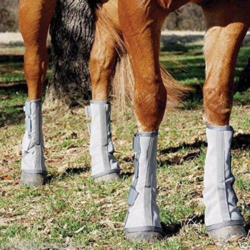 Cashel Crusader Horse Größe - Mesh FOUR LEG GUARDS - Blau Cool Mesh - Fly Control Stiefel e9d002