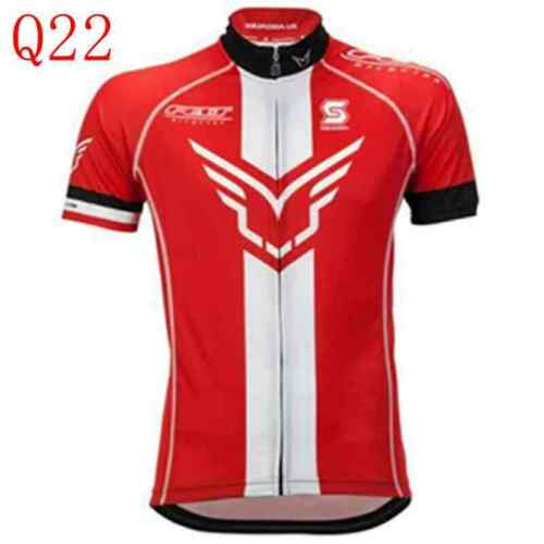 Outdoor sports Riding clothes New Cycling Short Sleeves jersey Mens tops Q8263