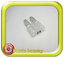 FUSE Micro2 Style 9mm 25 Amp White or Clear FOR Late Model Kia Soul Sorento