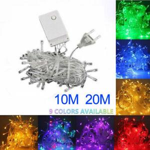 100-200-LED-Fairy-String-Christmas-Tree-Party-Lights-Lamp-Xmas-Decor-Waterproof