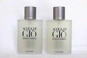 Giorgio Armani Acqua Di Gio 3.4oz Men's Eau de Toilette ***2 pc Special***
