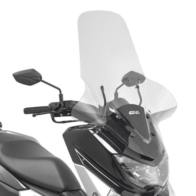 Parabrisas Completo [ Givi ] - Yamaha N-Max 125 (2015-2018) - 2123DT+D2123KIT