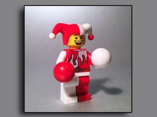 Lego Figuren Castle Ritter Hofnarr Gaukler Jester S1