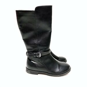 black boots for girls size 2