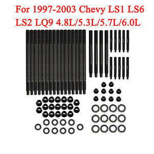 Details about Cylinder Head Stud Kit For 97-03 Chevy LS1 LS6 LS2 LQ9  4 8L/5 3L/5 7L/6 0L 33380