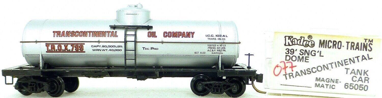 Micro Trains Line 65050 Trox 799 39' Single Dome Tank Car 1 160 Ovp  I077 Å