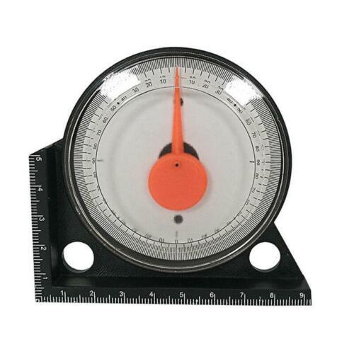 1x Magnetic Protractor Angle Finder Tilt Level Inclinometer Measure Clinometer
