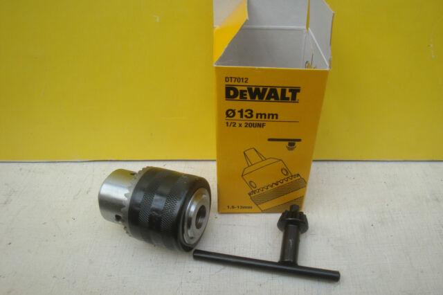 DEWALT dt7012qz Keyed chuck 13mm 1//2 X 20UNF