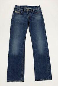 Diesel-levant-jeans-uomo-usato-W30-L34-tg-44-gamba-dritta-denim-boyfriend-T6205