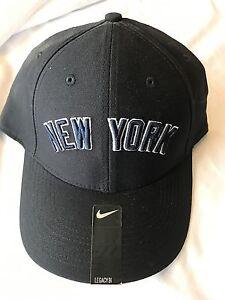 NY New York Yankees Nike Swoosh Flex unisex Blue cap   hat one size ... 827de02e5de