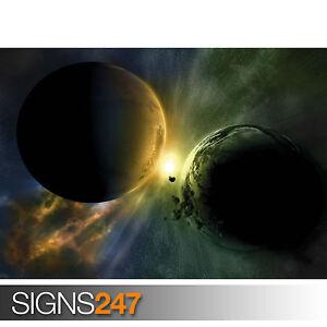 Planeta-lucha-3104-Picture-cartel-impresion-arte-A0-A1-A2-A3-A4-Segunda-Mitad-De-Precio