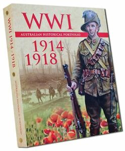 WWI-Australian-First-World-War-Historical-Coin-amp-Medal-Portfolio-10287