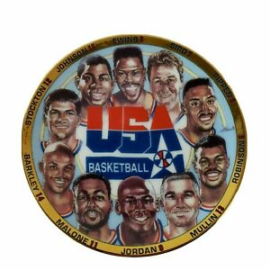 USA-Dream-Team-1992-Olympic-Basketball-Team-Sports-Impressions-Collectors-Plate