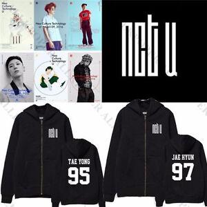 KPOP NCT U Zipper Coat New Album WITHOUT YOU Jacket MARK