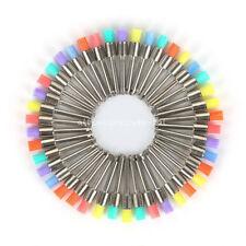 100 Nylon Latch Flat Dental Prophy Polishing Color Polisher Brush Prophylaxis