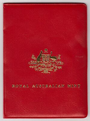 1980 Royal Australian Set In Folder Fashionable(In) Style;