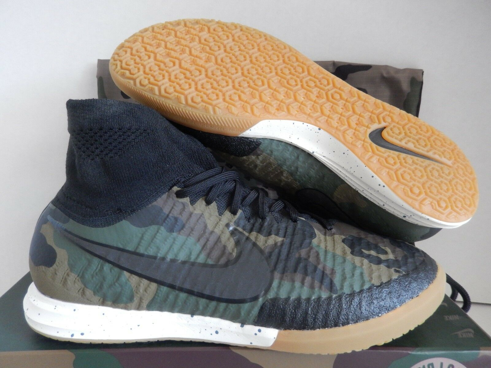 NIKE MAGISTAX PROXIMO SE IC MEDIUM OLIVE  ARMY CAMO  SZ 8.5 [835369-200]