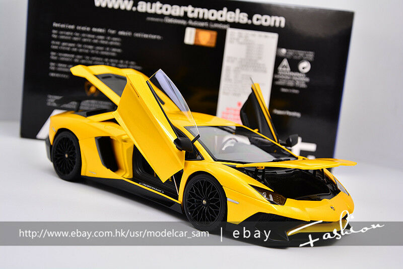 alta quaità AutoArt 1 18 lamborghini AVENTADOR LP750-4 SV SV SV gituttio  migliore vendita