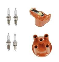 Mercedes W123 230 77-78 L4 2.3 Bosch / Denso Ignition Kit Spark Plugs Cap Rotor on sale