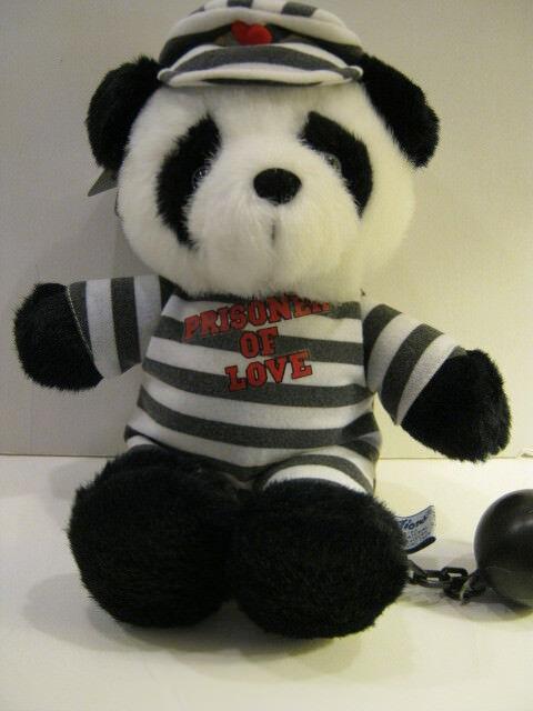 Plush Panda Bear-