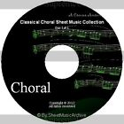 Massive Professional Choral Singing Sheet Music Collection Archive Library DVD
