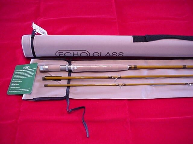 Echo Fiber Glass 7ft 10in  5 Line Rod 3 Piece GREAT NEW