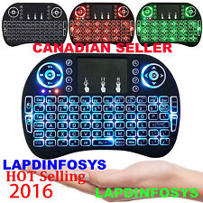 Mini 2.4G Backlit Wireless Touchpad Keyboard Air Mouse For PC Android TV Box LOT