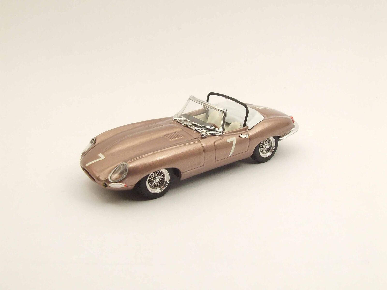 Jaguar E Spider Del Mar Usa 1961 Wally Barnitz Best 1 43 Be9459 Model