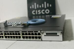 Cisco-Catalyst-WS-C3750X-48P-S-Poe-Gigabit-Switch-SINGLE-POWER