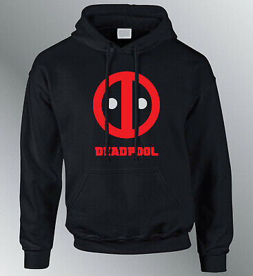 Felpa Cappuccio Deadpool S M XL XXL Super Anti eroe Marvel Comics Cappuccio | eBay