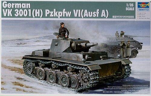 Trumpeter 1 35 VK 3001(H) PzKpfw VI Ausf A