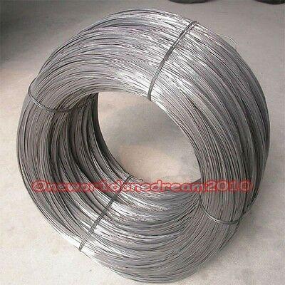 5 metres = 16.4 FT Titanium Ti Wire Grade 1 One GR1 ASTM B348 Diameter 1mm E0Z-Z