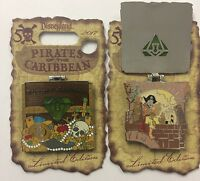 Disneyland 2017 Pirates Of The Caribbean 50th Drunk Pirate Le Disney Pin