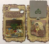 Disneyland 2017 Pirates Of The Caribbean 50th Drunk Pirate Le Disney Pin