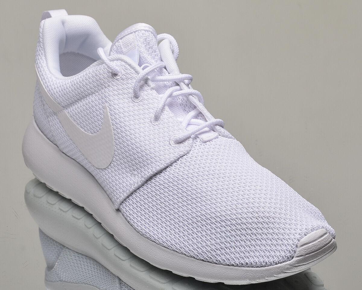 Uno stile di vita nike roshe uomini rosherun nuovo bianco 511881-112 scarpe casual
