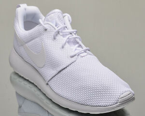 Nike Roshe One men lifestyle casual sneakers rosherun NEW all white 511881-112